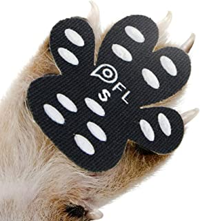 Dog Paw Protection Anti-Slip Traction Pads with Grips, 24 Pieces Self Adhesive Disposable Dog Shoes for Hardwood Floor Indoor Wear