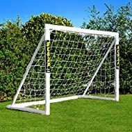 FORZA 6' x 4' Football Goal - The Only Goal That Can Be Left Outside In Any Weather (Goal Only)