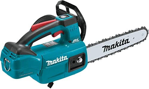 """discount Makita 2021 XCU06Z 18V 2021 LXT Lithium-Ion Brushless Cordless 10"""" Top Handle Chain Saw, Tool Only online sale"""