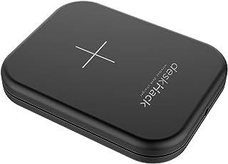 【中・長距離充電】CIO デスクハック deskHack 机 充電器 急速充電 スマート家電 IoT家電7.5W/10W iPhone8 X 11 Pro Max galaxy (ブラック)
