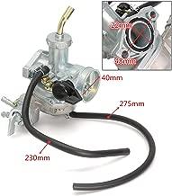 Jonathan-Shop - Carb Carburetor & Throttle Cable For Honda ATV ATC 70 90 110 125 TRX125 C02220