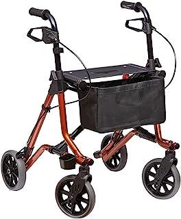 Dietz Taima M lichtgewicht rollator opvouwbare rollator inclusief mandnet lekvrije banden