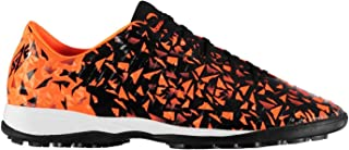 Sondico Blaze Astro Turf Football Boots Mens Black/Orange Sports Footwear