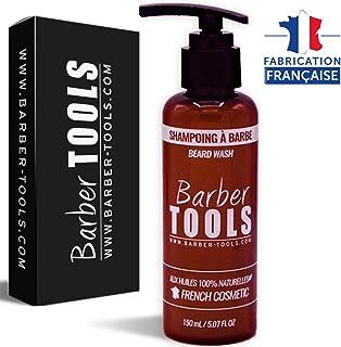 ✮ BARBER TOOLS ✮ Champú para barba - 150ml | Para el mantenimiento y cuidado de la barba - MADE IN FRANCE
