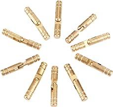Nologo SSB-JIAJUPJ, 10 stuks 30 * 5mm zuiver koper messing conceal scharnieren sieraden doos verborgen onzichtbaar barrel ...
