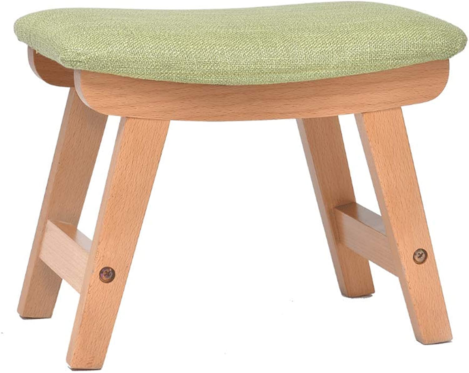Solid Wood Small Stool Casual Fashion Stool Change shoes Stool Creative Small Bench