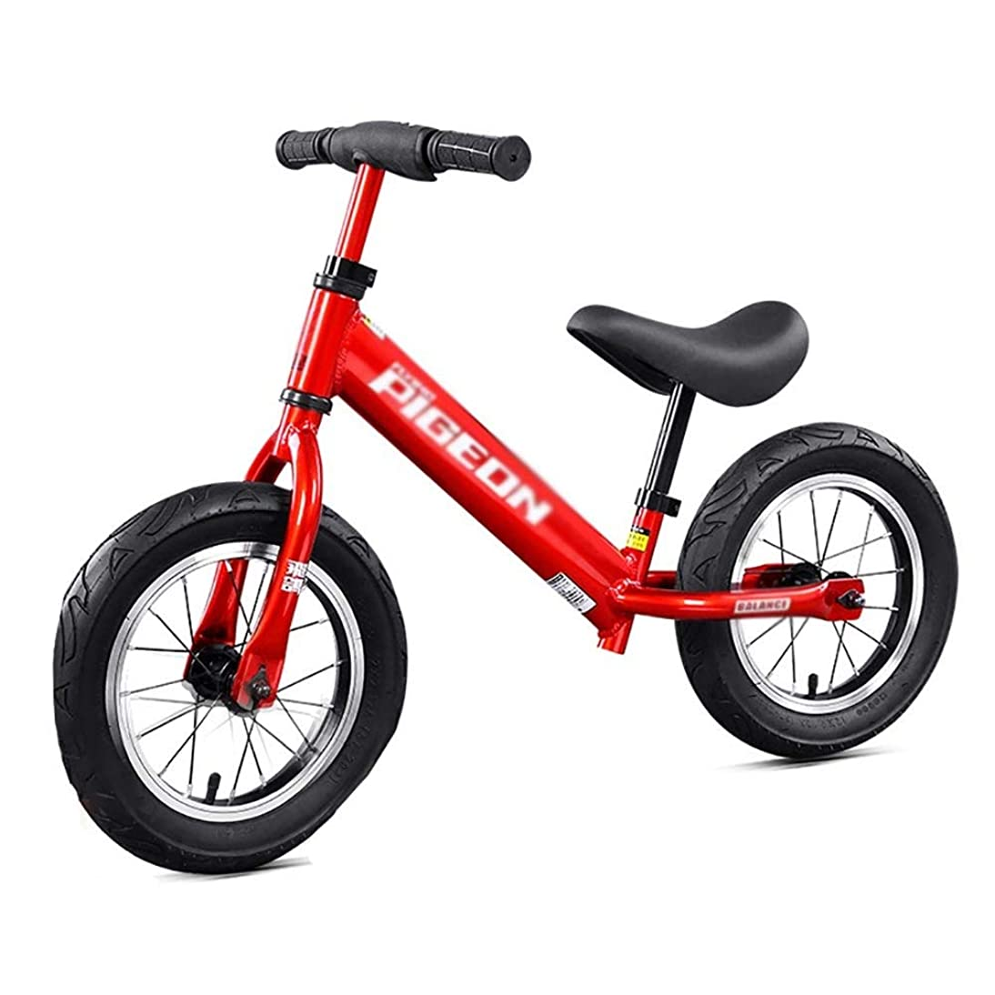 Balance Bike YXX Aluminum Alloy with Adjustable Handle & Seat, No Pedal Sport Bicycle for Kids Toddlers eedw754520463906