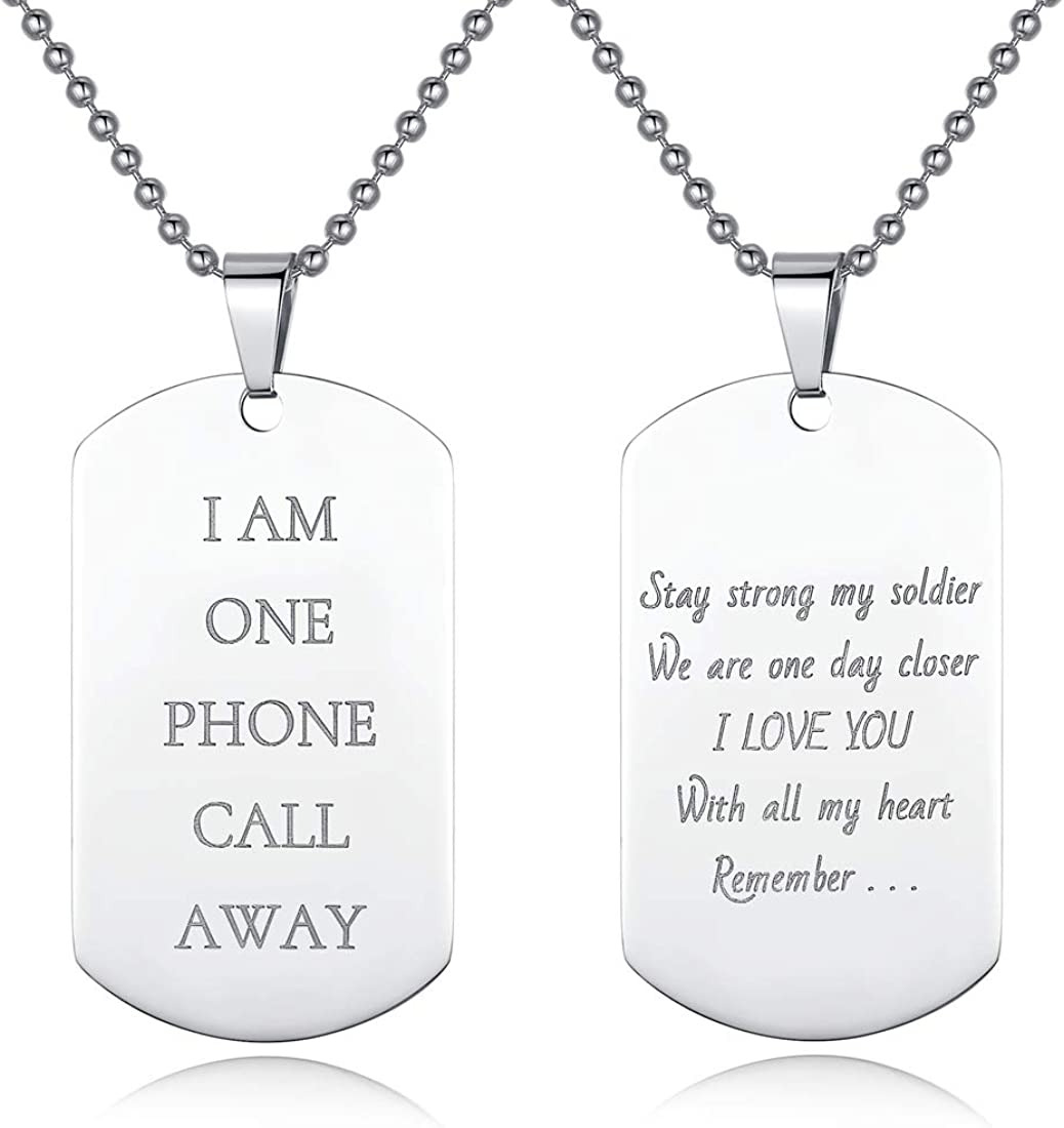 AIbeads Personalized Ranking TOP3 Spring new work one after another Dog Tag Engrave Custom Text Font Memorial