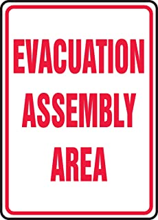 Best assembly area sign Reviews