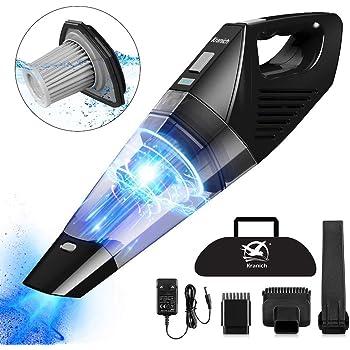 Kranich Aspiradora de mano 7000Pa húmeda y seca sin cable con batería sin bolsa, succión fuerte Handy Generation Ii 7 Kpa: Amazon.es: Electrónica