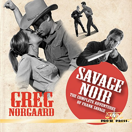 Savage Noir audiobook cover art