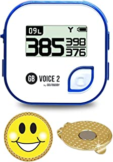 GolfBuddy Voice 2 Golf GPS/Rangefinder Bundle with Ball Marker and Magnetic Hat Clip photo