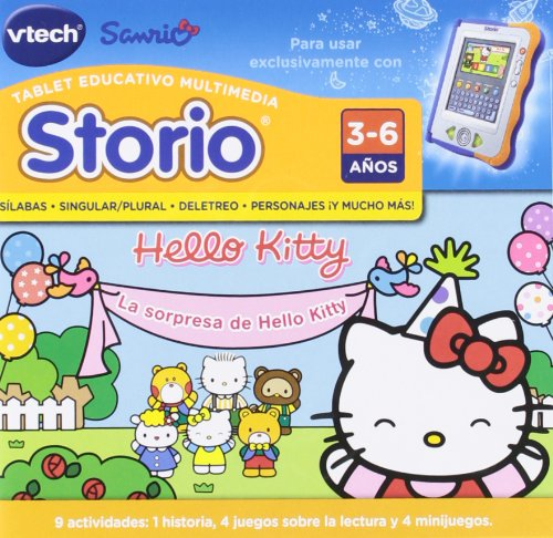 VTech Storio - Hello Kitty para Storio 80-282422