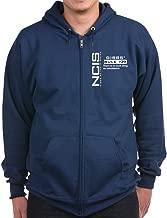 CafePress - NCIS Gibbs' Rule #39 - Zip Hoodie, Classic Hooded Sweatshirt with Metal Zipper