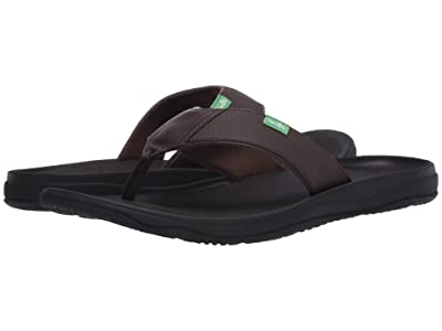 Sanuk Tripper H2O Yeah (Dark Brown) Men