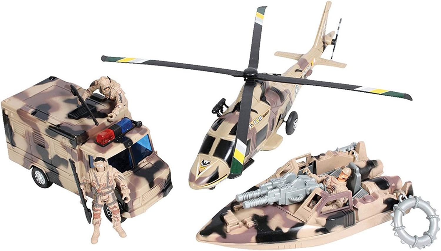 Redhco Super Warrior Vehicle Play Set