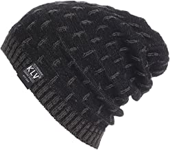 Mayunn Womens Mens Winter Warm Crochet Wool Knit Ski Beanie Skull Slouchy Caps Hat