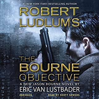 Robert Ludlum's The Bourne Objective audiobook cover art