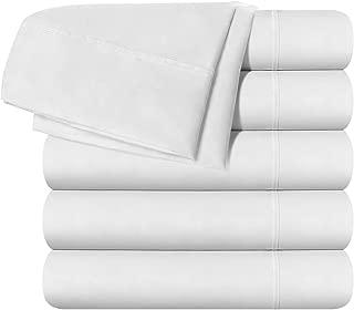 Best twin xl white flat sheets Reviews