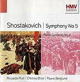 Shostakovich : Symphony No. 5, Piano Concerto No. 2
