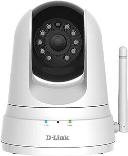 D-Link DCS-5000L - Cámara vigilancia IP WiFi N 300Mbps a Motor para Interior resolución VGA 640 x 480 micrófono y visión Nocturna Detector Movimiento Control Desde App mydlink para iOS/Android
