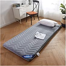 Folding Mattress, Roll Up Mattress Foldable Comfort Portable Folding Single Double Bed Portable Thicken Pad for Living Roo...