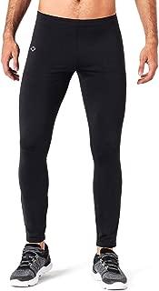 NAVISKIN Men' Fleece Lined Running Tights Outdoor Pants Zip Pocket