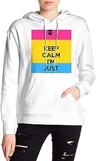 VJJ AIDEAR Pan Sexual Women's Sweater Printed Hoodied Long Sleeve Coat