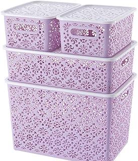Panier de rangement, boîte de rangement for les vêtements, boîte de rangement séparée for armoire, étagère de rangement mu...