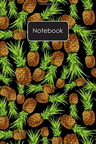 Notebook: Pineapple Pattern Blank Lined Journal To Write In...