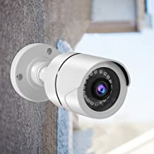 Security Camera, 3.6mm Prime Lens Home Security Camera 1080P / 4MP / 5MP HD IR-Cut Double Filter Night Vision for Apartmen...
