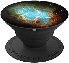 Blue Nebula Universe - Cell Phone Mount, Holder Knob 3977 - PopSockets Grip and Stand for Phones and Tablets