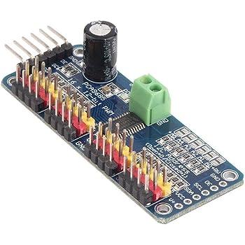 HiLetgo PCA9685 16チャンネル 12-ビット PWM Servo モーター ドライバー IIC モジュール Arduinoに対応 ロボット