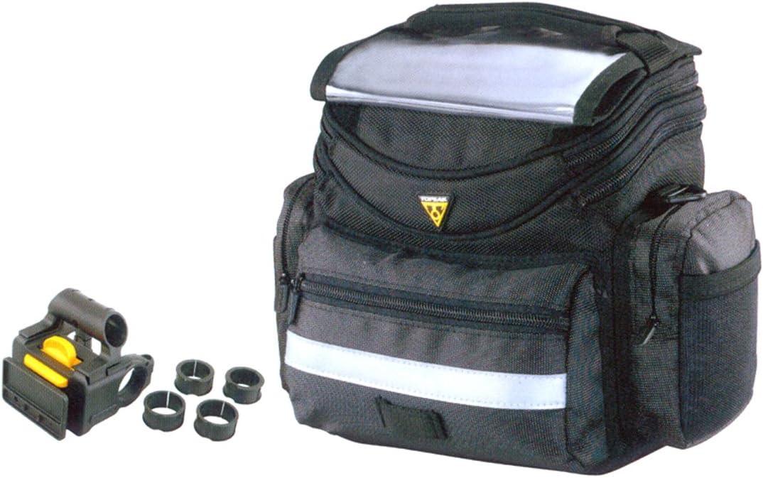 Topeak Challenge the lowest price Tour Guide Handlebar - Popular overseas Bag Black