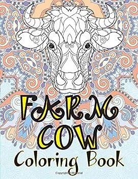 Farm Cow - Coloring Book