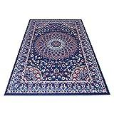 webtappeti.it tappeto stile orientale/classico tappeto arredo soggiorno e camera royal shiraz 2082-blue 140x210