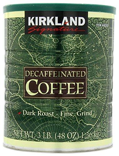 Kirkland Signature Dark Roast Decaffeinated Ground Coffee