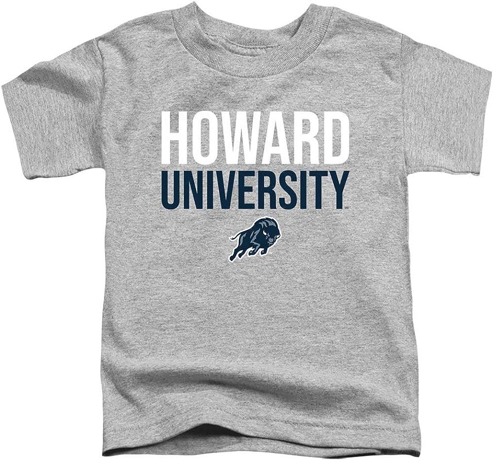 Howard University Official Stacked Unisex Toddler T Shirt