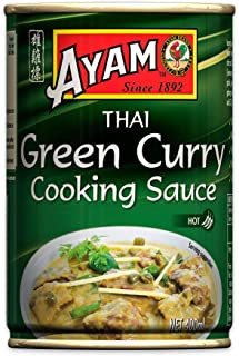 AYAM Green Curry Sauce | Spicy & Subtle | Egg, Dairy, Nut & Gluten Free | No Preservatives, No Artificial Flavours, No Art...