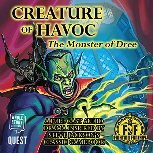 Creature of Havoc: The Monster of Dree audiobook cover art