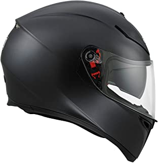 AGV K3 SV Matt Black, Free Pinlock Included (XS)