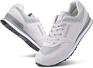Baskets Homme Basse Casual Sneakers Femme Mode Chaussure de Course Fitness Sports Gris Rouge Blanc Beige Taille 36-48