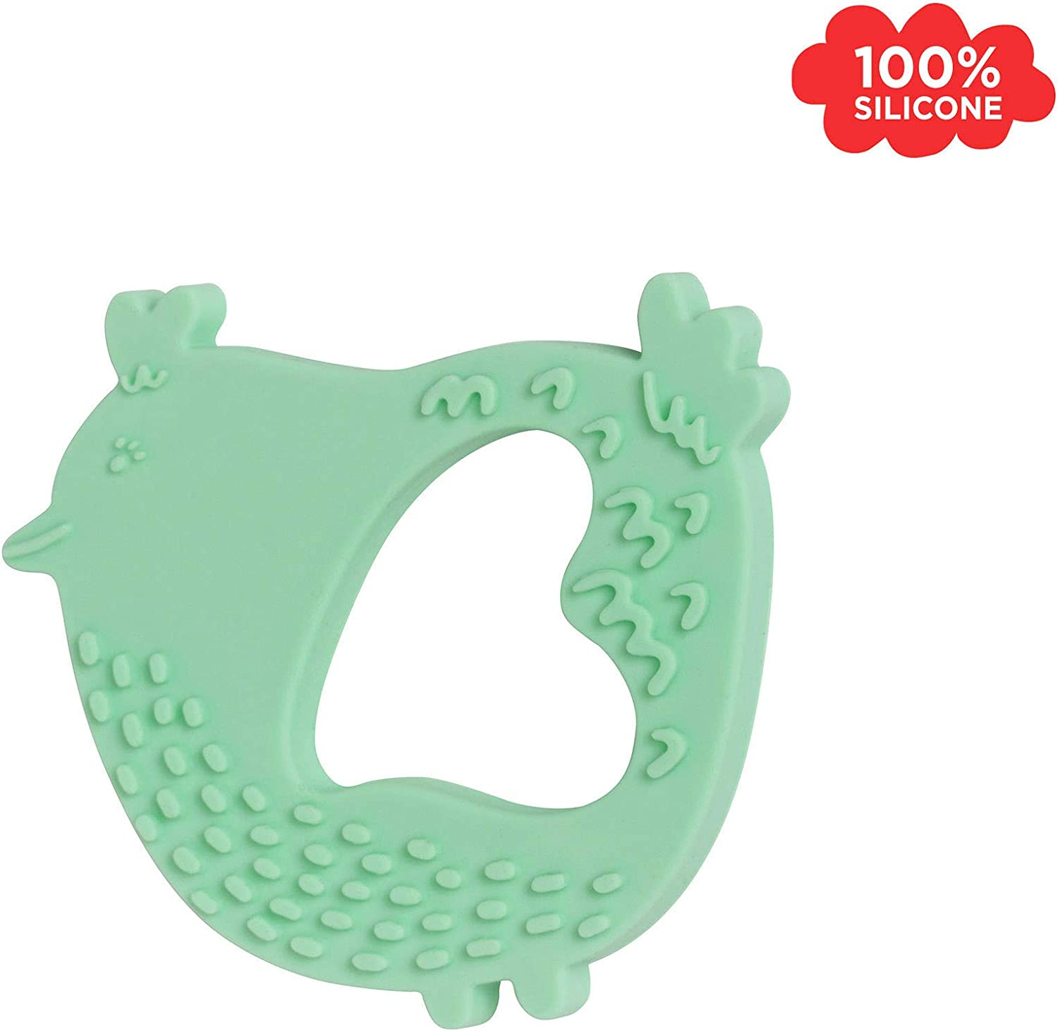Manhattan Toy Lamb Textured Silicone Teether