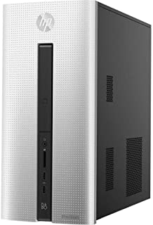 HP Pavilion 550 High Performance Desktop Computer, Intel Dual-Core i3-4170 Processor Up to 3.7GHz, 6GB DDR3 Memory, 1TB HDD, Bluetooth 4.0, USB 3.0, Wi-Fi, HDMI, Windows 10 Home (Renewed)