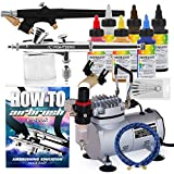 PointZero Cake Decoration Kit with Two Airbrushes