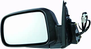 HO1320215 Black for 2002-2006 Honda CR-V Roane Concepts Replacement Left Driver Side Door Mirror Non-Heated Power Folding