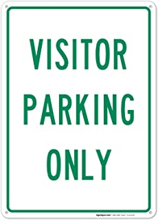 Best visitor parking only sign Reviews