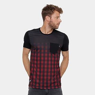Camiseta Okdok Classic Xadrez C/Bolso Masculina