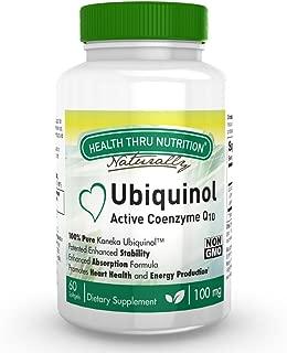 Ubiquinol 100mg 60 Softgels (Soy-Free) (NON-GMO) EAF CoQ10 (Enhanced Absorption Formula Coenzyme Q10 as Kaneka Ubiquinol)