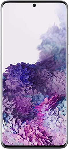 Samsung Galaxy S20+ 5G Factory Unlocked New Android Cell Phone US Version | 128GB of Storage | Fingerprint ID and Facial Recognition | Long-Lasting Battery | US Warranty |Cosmic Gray